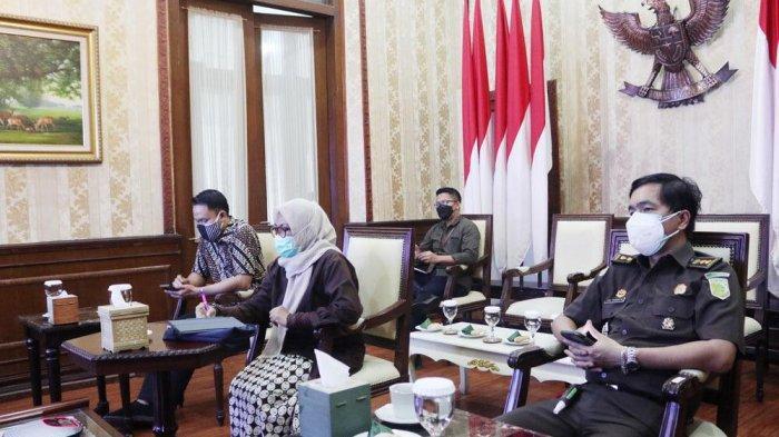 Rakor PPKM Darurat Kota Bogor, Perkantoran 100 Persen Work From Home, KBM Digelar Daring