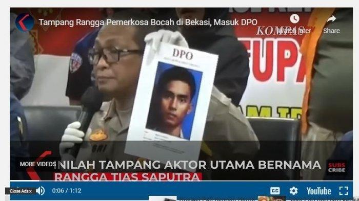 Akhir Pelarian Rangga Perampok yang Perkosa Gadis SMP di Bekasi, Ditangkap di Bogor