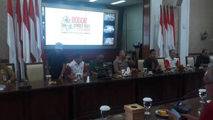 270 Petugas Gabungan Amankan Bogor Street Festival 2020, Kapolresta Bahas Antisipasi Ancaman