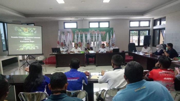 Harapan Seluruh Cabang Olahraga di Bumi Tegar Beriman kepada KONI Kabupaten Bogor