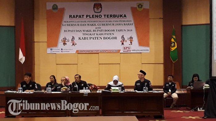 Hasil Rekapitulasi Pilgub Jabar 2018, Sudrajat-Syaikhu Kokoh Di Kabupaten Bogor