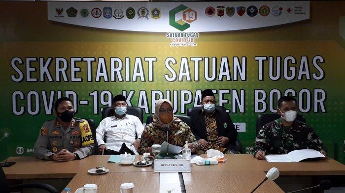 Bupati Klaim Kasus Covid-19 di Kabupaten Bogor Menurun, Satu Tempat Isolasi Kosong
