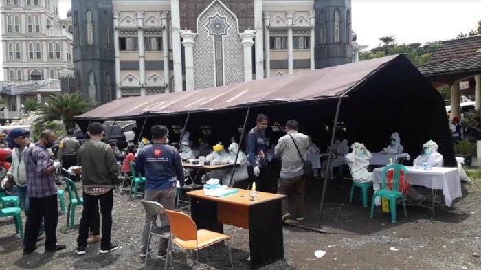 Rapid Test Massal Kembali Digelar di Puncak Bogor, 12 Wisatawan Dinyatakan Reaktif Covid-19