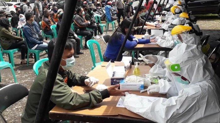 BREAKING NEWS - Libur Panjang, Ratusan Wisatawan yang ke Puncak Bogor Disetop dan Disuruh Tes Rapid