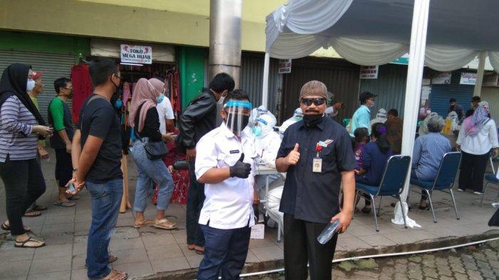 BREAKING NEWS - Rapid Test di Pasar Bogor, 5 Orang Reaktif Covid-19
