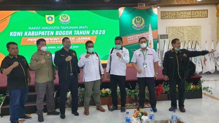 Launching Tagline Perkasa pada Rapat Akhir Tahun, KONI Kabupaten Bogor: Ini Bukti Keseriusan Kami