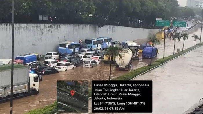 Banjir Mulai Surut, Ini Deretan Ruas Tol Jasa Marga yang Sudah Beroperasi Kembali