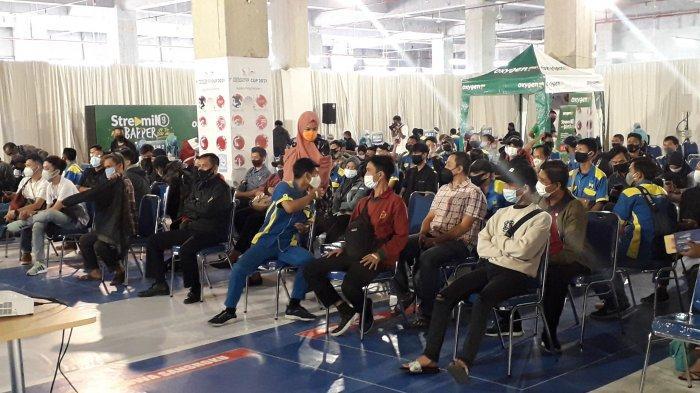 Ratusan Pekerja Retail di Kota Bogor Divaksin Massal di Dalam Mall Boxies