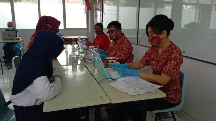 Ratusan Pelajar SMP Kesatuan Bogor Jalani Vaksinasi Covid-19 Perdana Tingkat SMP