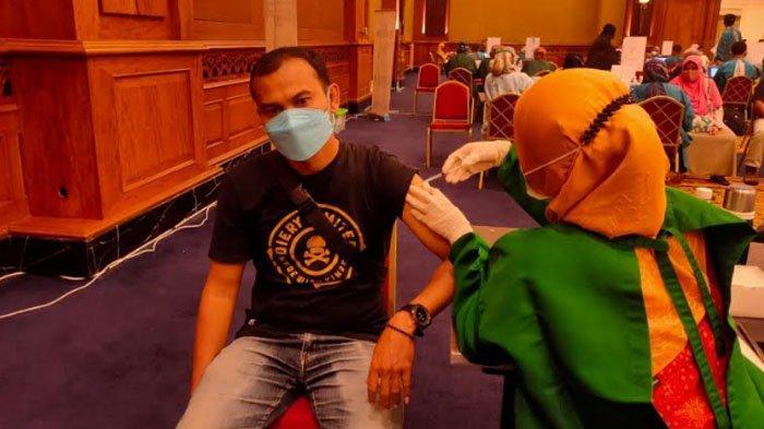 Ratusan Wartawan di Kota Bogor Jalani Vaksinasi Dosis Kedua