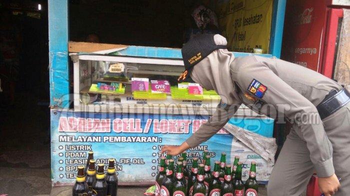 Regulasi Alkohol di Kota Bogor Masih Banyak Dilanggar