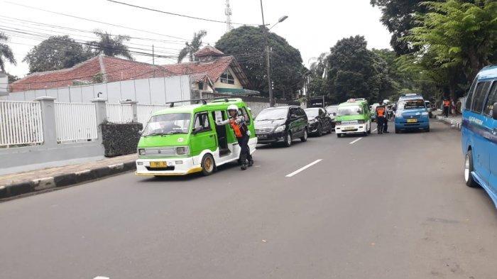 Razia Pajak Kendaraan di Jalan Pemuda Bogor, Pengendara Motor Mendominasi