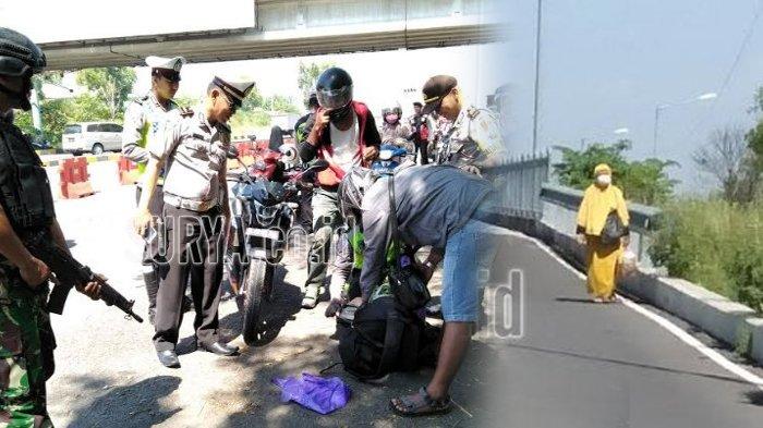 Wanita Ini Terpaksa Berjalan di Jembatan Suramadu Saat Razia, Ternyata Begini Perlakuan Driver Ojol