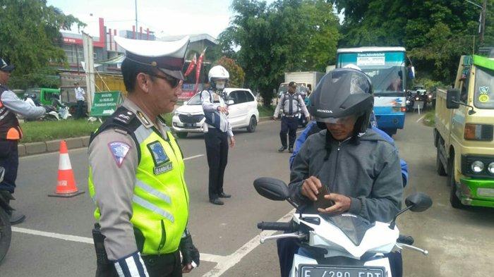 3 Jam Razia Polisi Bogor di Perumahan Taman Sari Persada, 25 STNK Ditahan