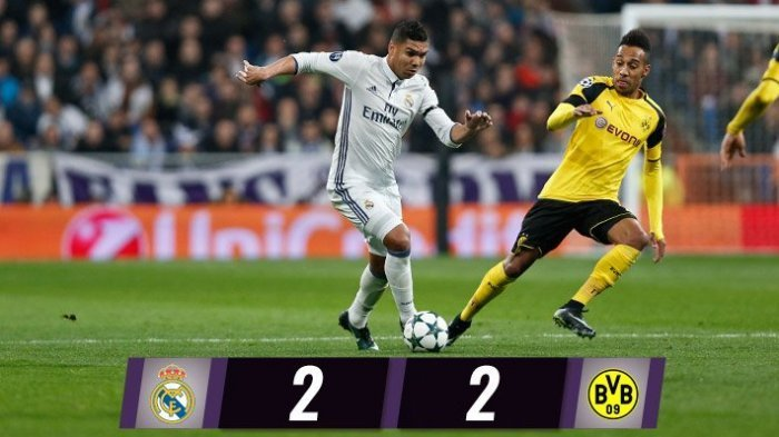 Real Madrid Gagal Bungkam Dortmund