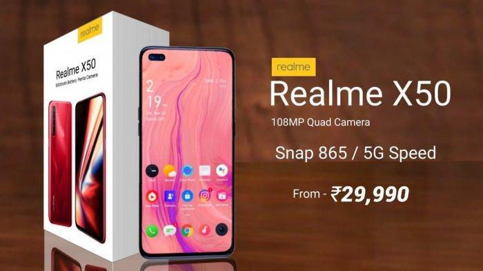 Harga Realme X50 Terbaru, Ponsel Kelas Menengah dengan Konektifitas 5G