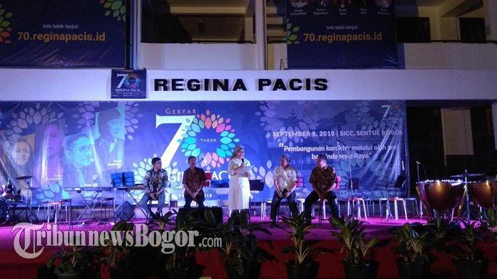 Reuni Akbar Gebyar 70 Tahun Regina Pacis, Dimeriahkan 5 Artis Tanah Air