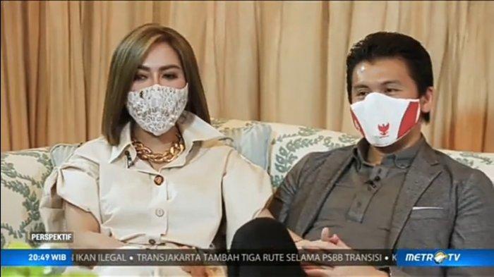 Syahrini bongkar reaksi sang mertua Rosano Barack soal isu video syur Incess