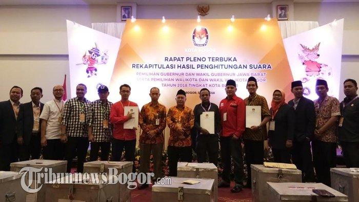 KPUD Kota Bogor Akan Tetapkan Wali Kota Terpilih Setelah MK Melakukan Registrasi PPHP