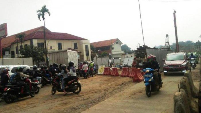 Rekayasa Lalu Lintas di Jalan RE Martadinata Bogor, Kini Dipindah ke Jalur Frontage