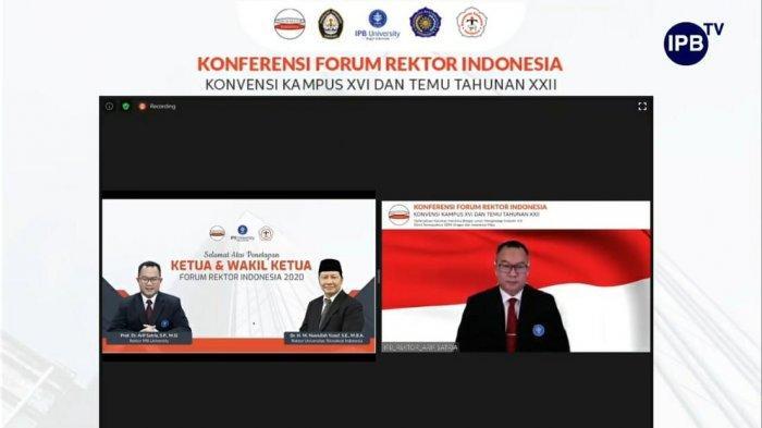 Tanggapi UU Cipta Kerja, Forum Rektor Indonesia Menilai DPR RI Terlalu Cepat Melakukan Pengesahan