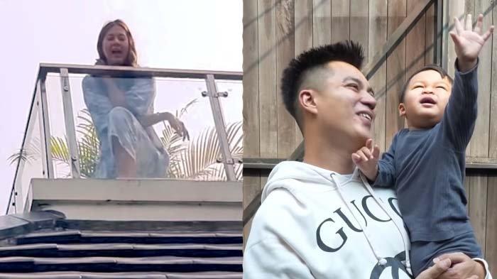 Naik ke Atas Balkon Demi Ketemu Kiano, Paula Nangis Ucap Janji Jika Sembuh Covid-19: Sabar ya Sayang
