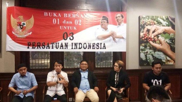 Ademkan Suasana, Relawan Jokowi dan Pendukung Prabowo Buka Bareng