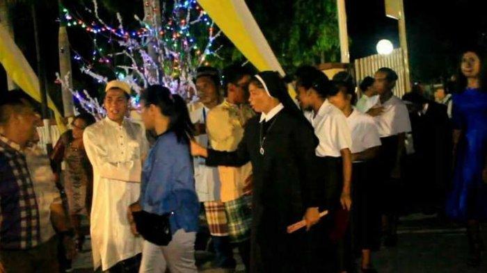 Potret Toleransi Saat Natal di Maumere, Remaja Masjid Ikut Amankan Misa Natal di Gereja