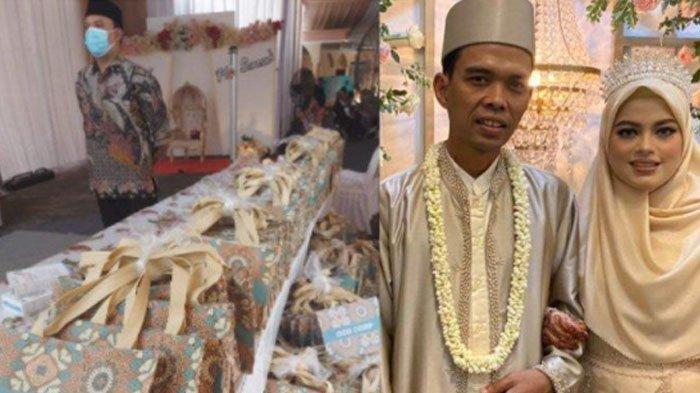Resepsi Pernikahan Ustaz Abdul Somad, Tamu Diberi Souvernir Karya FatimahAzZahra