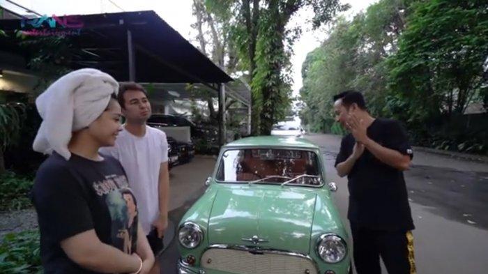 Mobil Morris Resmi Dibeli Denny Cagur, Nagita Slavina Girang: Lumayan Buat Nambahin Bikin Closet