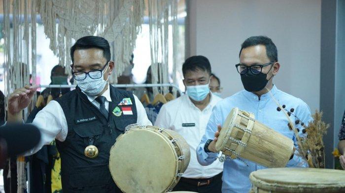 Resmikan Creative Center di Kota Bogor, Ridwan Kamil : Mau Pintar Berkumpulah dengan Orang Pintar