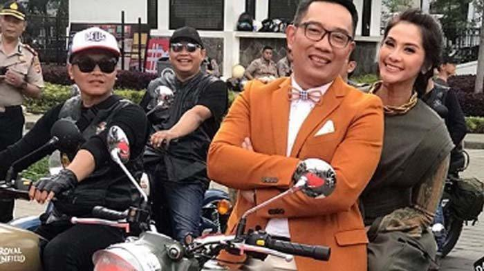 Maudy Koesnaedi Boncengan Ala Dilan dengan Ridwan Kamil, Ini Tanggapan Suami dan Istri Mereka