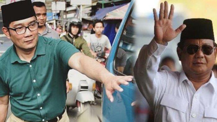 Dinyinyiri Karena Singgung Soal Bowo 'Artis' Tik Tok, Ridwan Kamil : Bukan Sindir Prabowo Subianto