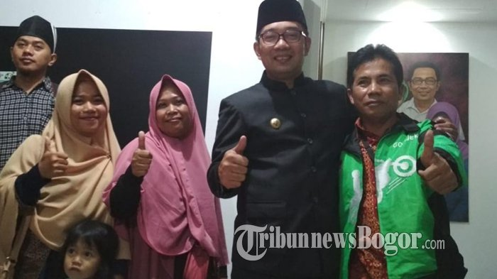 Driver Ojek Online Asal Bogor yang Promosikan Ridwan Kamil Akhirnya Dapat Motor