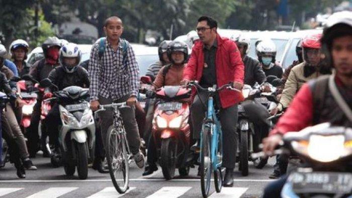 Cerita Ridwan Kamil Ditabrak Motor, Pengendaranya Lawan Arah dan Bentak Wali Kota Bandung