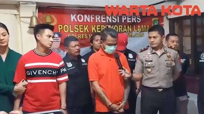 Rizky Tertunduk saat Ngaku Curi Motor Baim Wong, Suami Paula Kesal Lakukan Ini di Depan Polisi