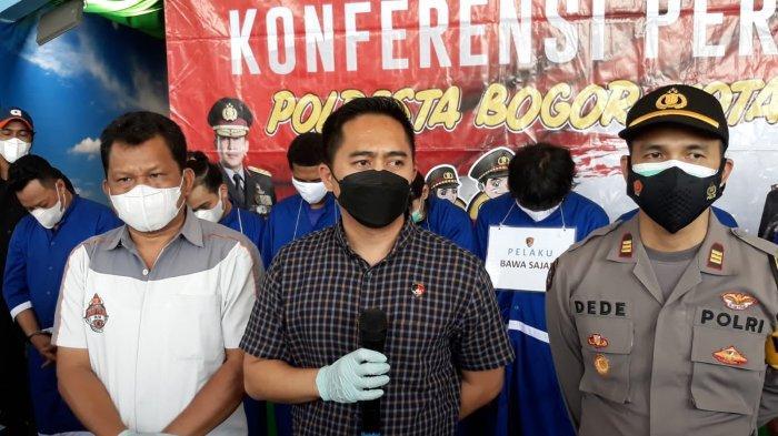 Tengah Malam Nongkrong Bawa Sajam, Sejumlah Remaja Diciduk Tim Kujang Polresta Bogor Kota