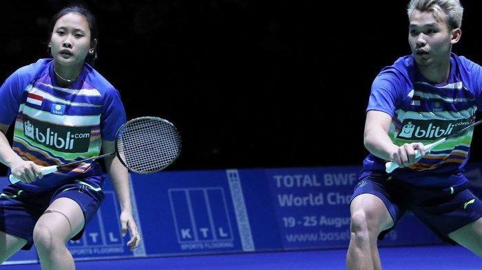 Hasil Malaysia Open 2019 - All Indonesian, Rinov/Pitha Tundukkan Praveen/Melati