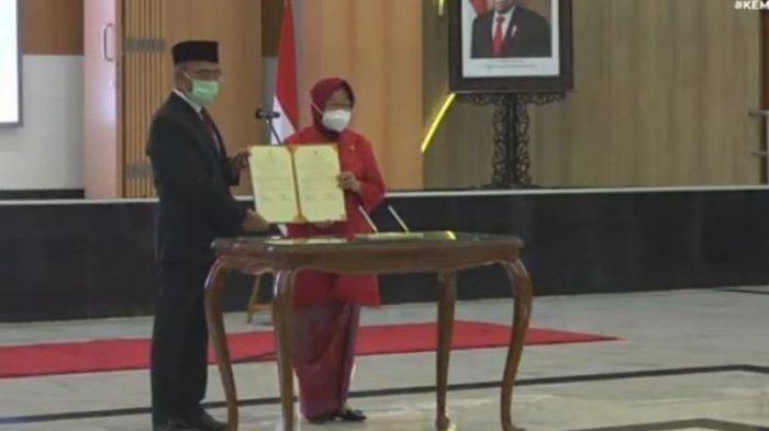 Dilantik Jadi Mensos, Risma Otomatis Diberhentikan dari Wali Kota Surabaya