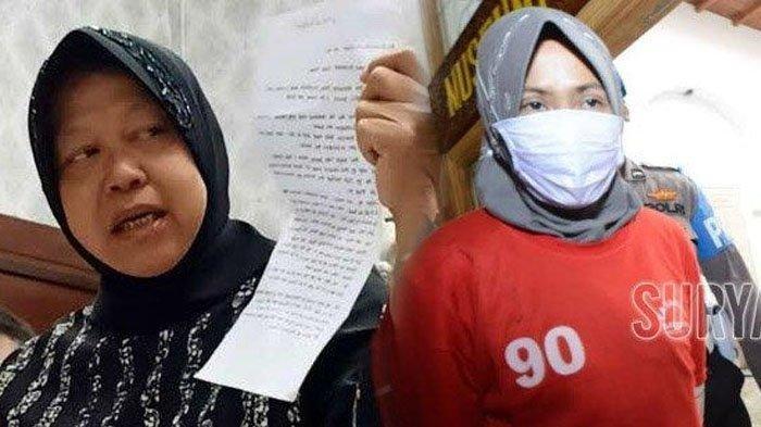 Suami Zikria Dzatil Kirim Surat untuk Wali Kota Risma, Ini Isinya