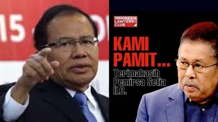 ILC Pamit dan Cuti Panjang, Rizal Ramli : Saya Bingung, Kok Penguasa Takut Sama yang Model Begini ?