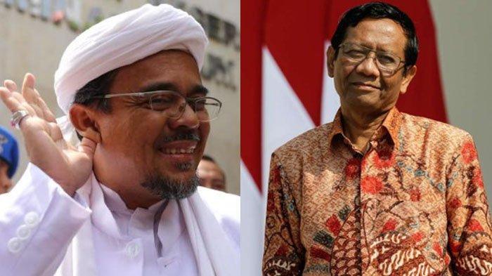 JPU Sebut Habib Rizieq Tak Perlu Mengambing-hitamkan Mahfud MD, Kuasa Hukum: Terlalu Baper