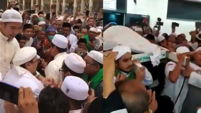 Video Rizieq Shihab Hadiri Pemakaman Mbah Moen, Menantunya Ikut Angkat Jenazah KH Maimun Zubair