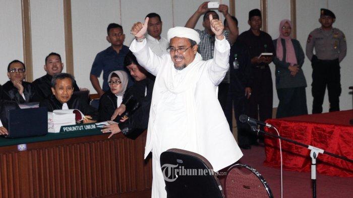 Habib Rizieq Shihab Dikabarkan Ditangkap, Kemenlu Cek Langsung Terbang ke Arab Saudi