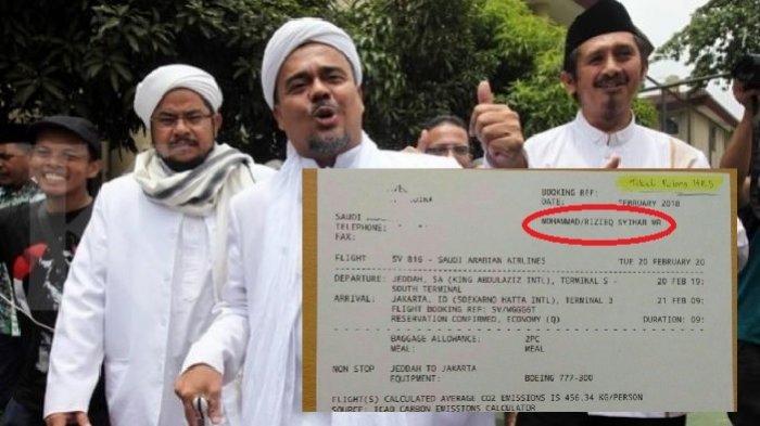 5 Hal yang Meyakini Habib Rizieq Beneran Pulang, Jam Saat HP Mati Sama Seperti Jadwal Pesawat