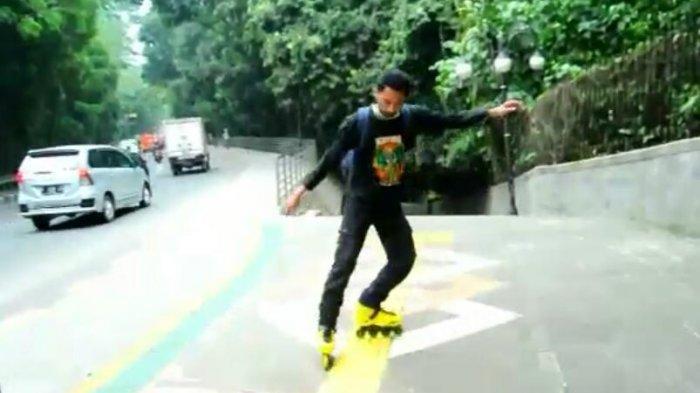 Cerita Penghoby Inline Skate Bogor, 2 Minggu Belajar Sudah Bisa Meluncur di Aspal