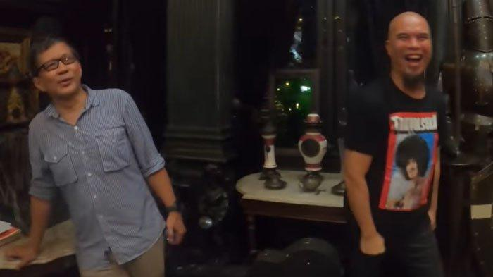 Ahmad Dhani Tunggu Fadli Zon untuk Jawab Sosok di Foto Ini, Rocky Gerung : Dia S3 Hambalang