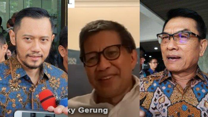Soroti Isu Kudeta Partai Demokrat, Rocky Gerung Bahas Kedekatan SBY-Moeldoko : Itu Harusnya Dilihat