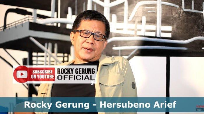 Rocky Gerung Usul Sebaiknya KPK dan KPU Dimakamkan: Dua Lembaga Itu Sudah Berhenti Kemuliaannya