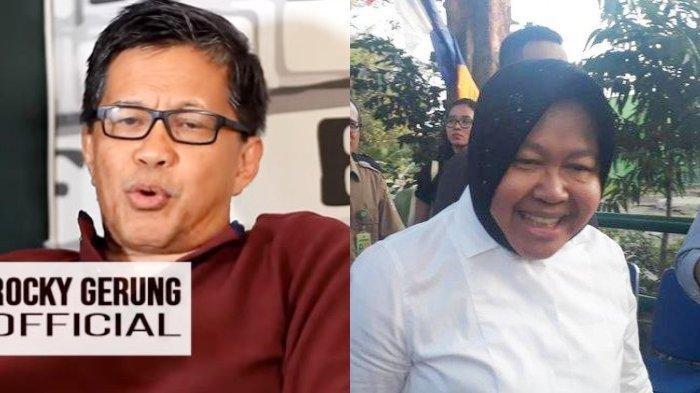 Sosok Tunawisma yang Ditemui Risma Dipertanyakan, Rocky Gerung : Pengemis Jakarta Pintar Sandiwara